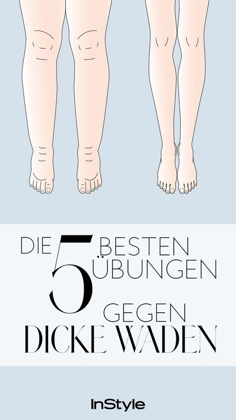Thick Calves: These five exercises will help you become beautiful. #body #waden ...