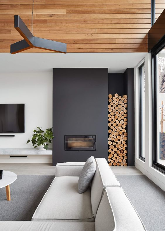 These 15 beautiful modern chimney designs are so beautiful and yet easy to ...