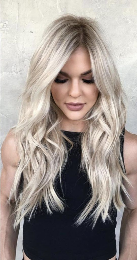 Ideas to go blonde - Icy long balayage | allthestufficarea...