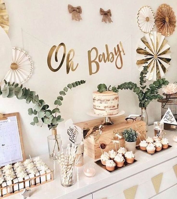 80 Cute Baby Shower Ideas for Girls #shower # Ideas #madchen,