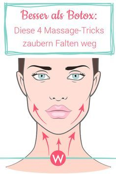 With these four massage strokes you will be able to reduce wrinkles on your chin, mouth, eyes and ...