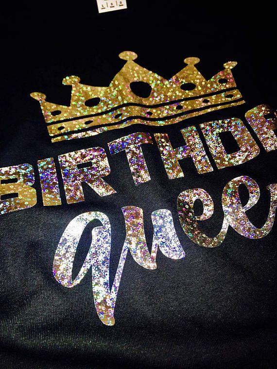 Birthday shirt women, birthday queen shirt, birthday queen tank, women birthday ...