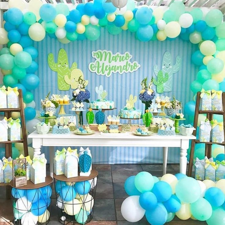 """Stunning Baby Shower Inspo 😍🎉 on Instagram: """"A sweet little boy is on th..."""