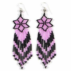 ojibwe beadwork patterns | This picture is an example of beaded jewelry, in this...