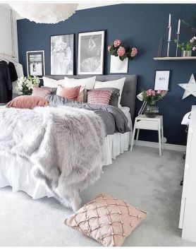 41+ Room Decor Bedroom rose gold and black secrets that no one sons ...