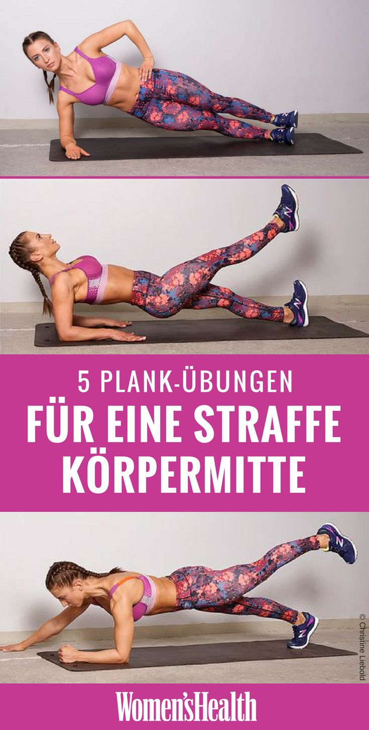 The plank is the classic abdominal exercises perfect for anyone looking for a ...