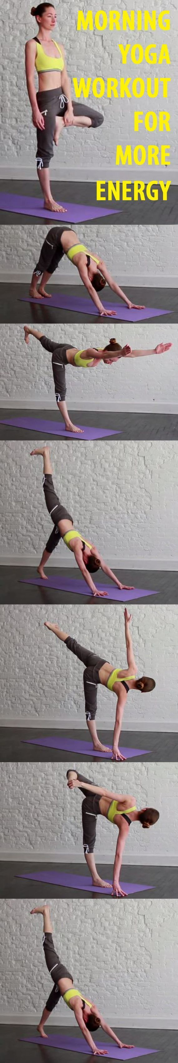 This 15-minute yoga routine will leave you feeling energized and ready to conque...