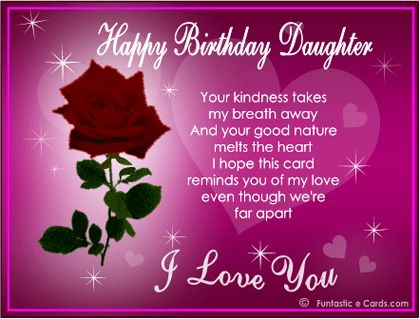 Daughters Birthday Wishes From Mom | Birthday Wishes for Daughter Holiday Messag...