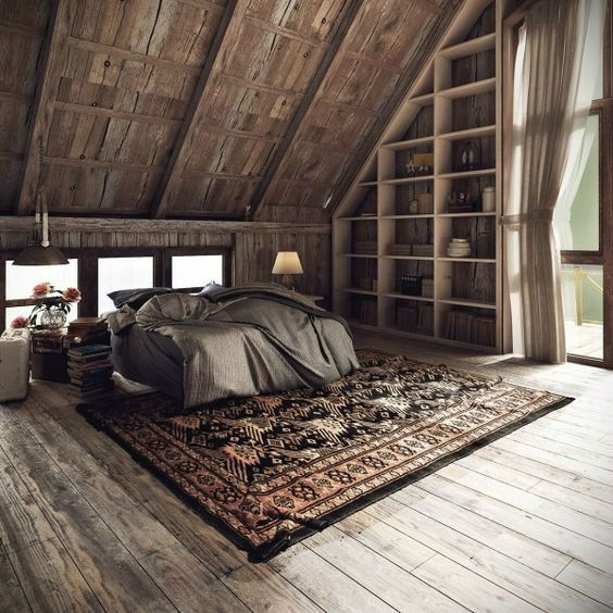 19 Dreamlike attic loft decoration ideas - #LoftDekoIdeen #loft #T ...