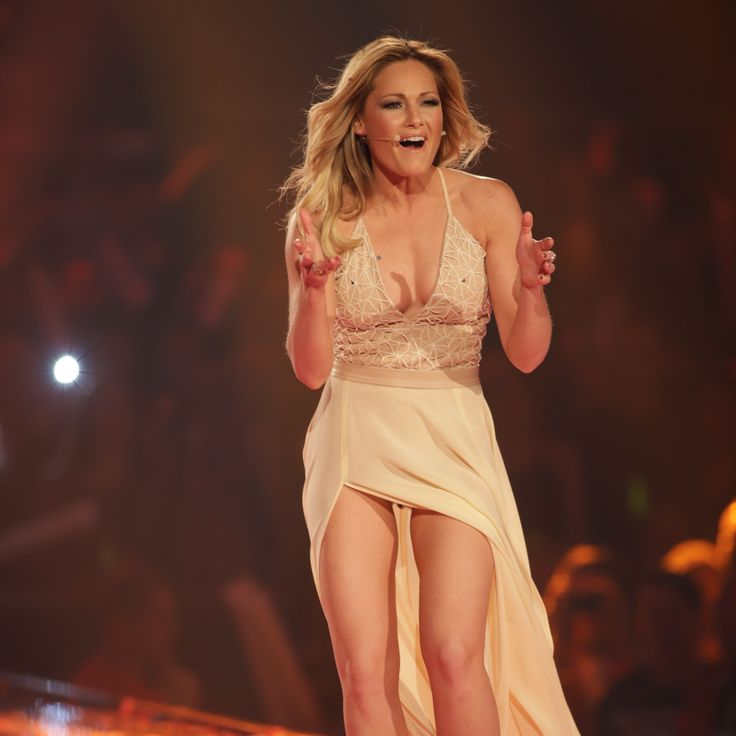 No question: Behind Helene Fischer is already a busy year. Kräftez ...