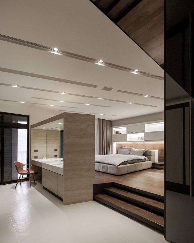 Modern, minimalist bedroom design Lo Residence by LGCA DESIGN. #lux...