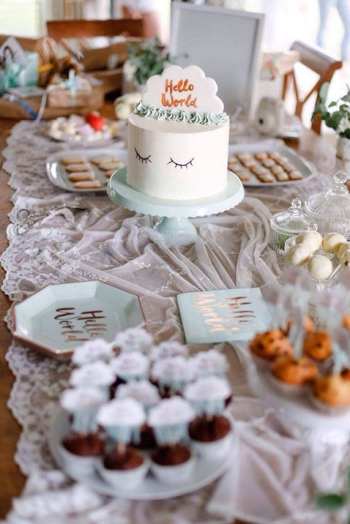 Baby Shower Baby Party I It's a Boy I It's a Girl I Feier I Junge I Mäd...