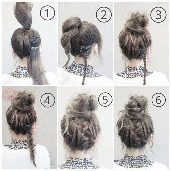 45+ Easy and Fast Hairstyles for School # Simple and Fast Hairstyles ...