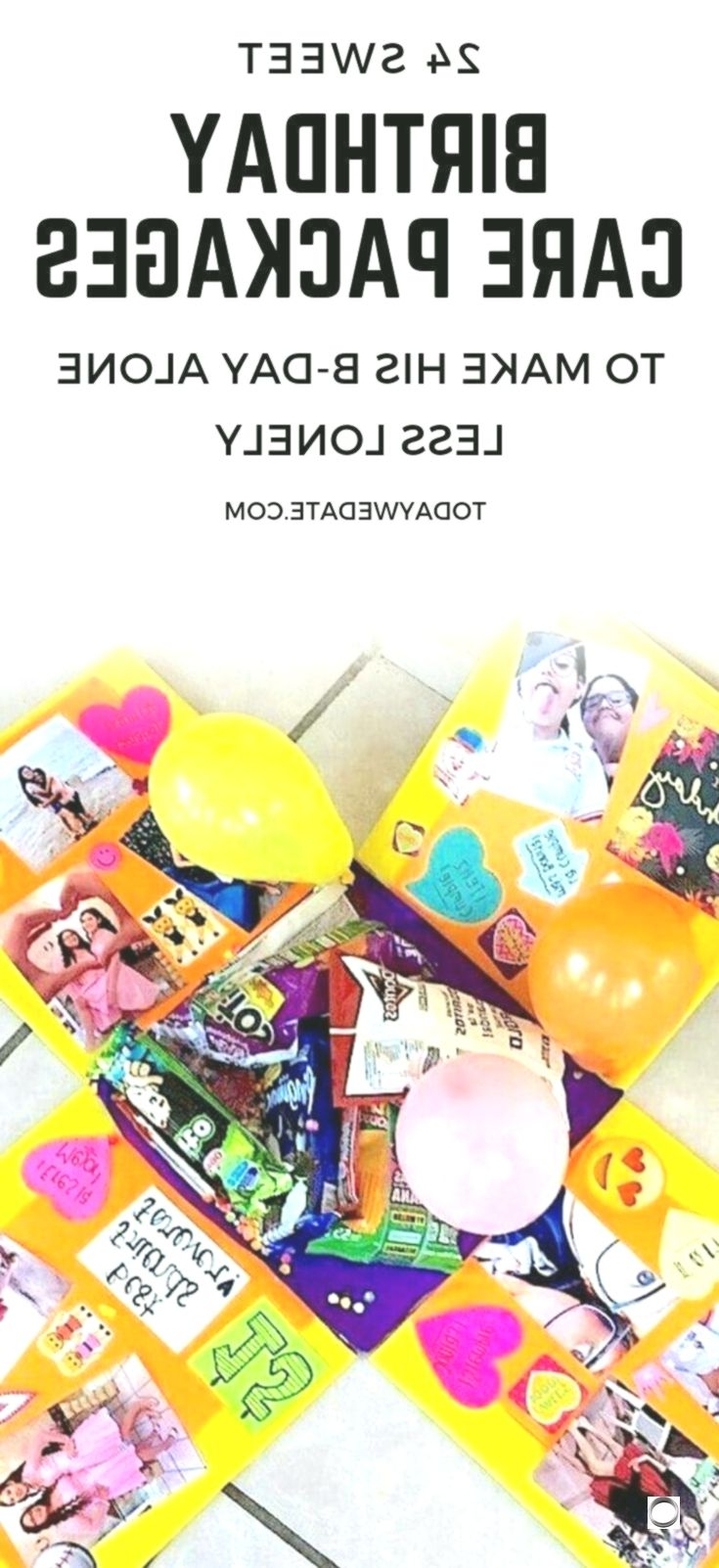 Distance Quotes :24 care packages to make his birthday alone less lonely - Today...