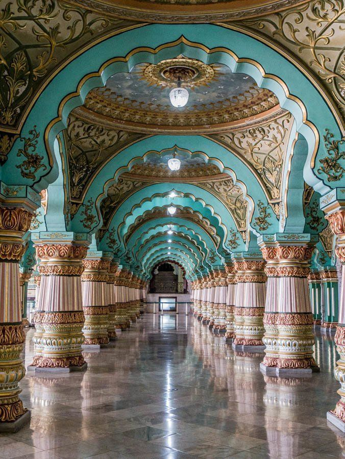 Mysore Palace - a must for any visit to southern India Mysore Palace - a must fo...