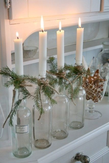 Scandinavian Christmas - the most beautiful Christmas is naturally green (and white)