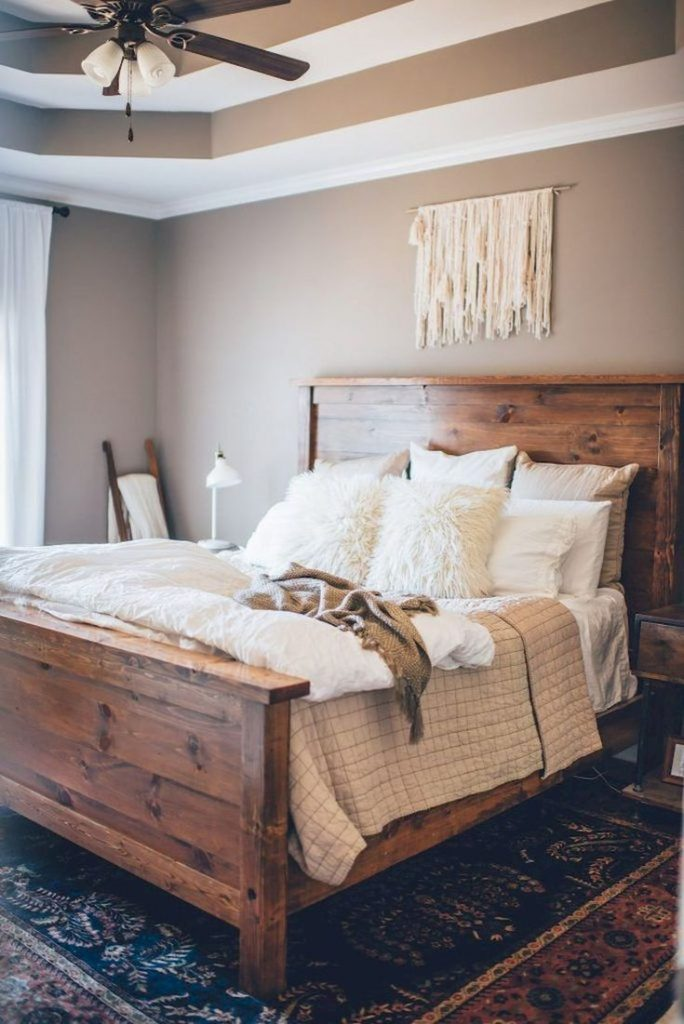 Gorgeous 70 Gorgeous Farmhouse Master Bedroom Ideas homespecially.com...