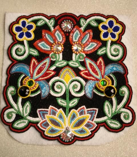 Image result for metis 'the flower beadwork people'