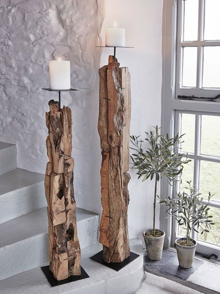 A tree as a piece of furniture? See what you can do with a tree inside ...