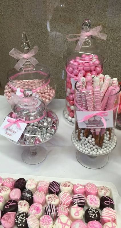 67 Trendy Ideas For Baby Shower Ides For Girls Themes Pink Chocolate Covered
