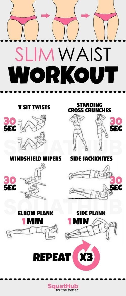 The 10 Best Waist Toning Workouts EVER (Full Instructions Included)