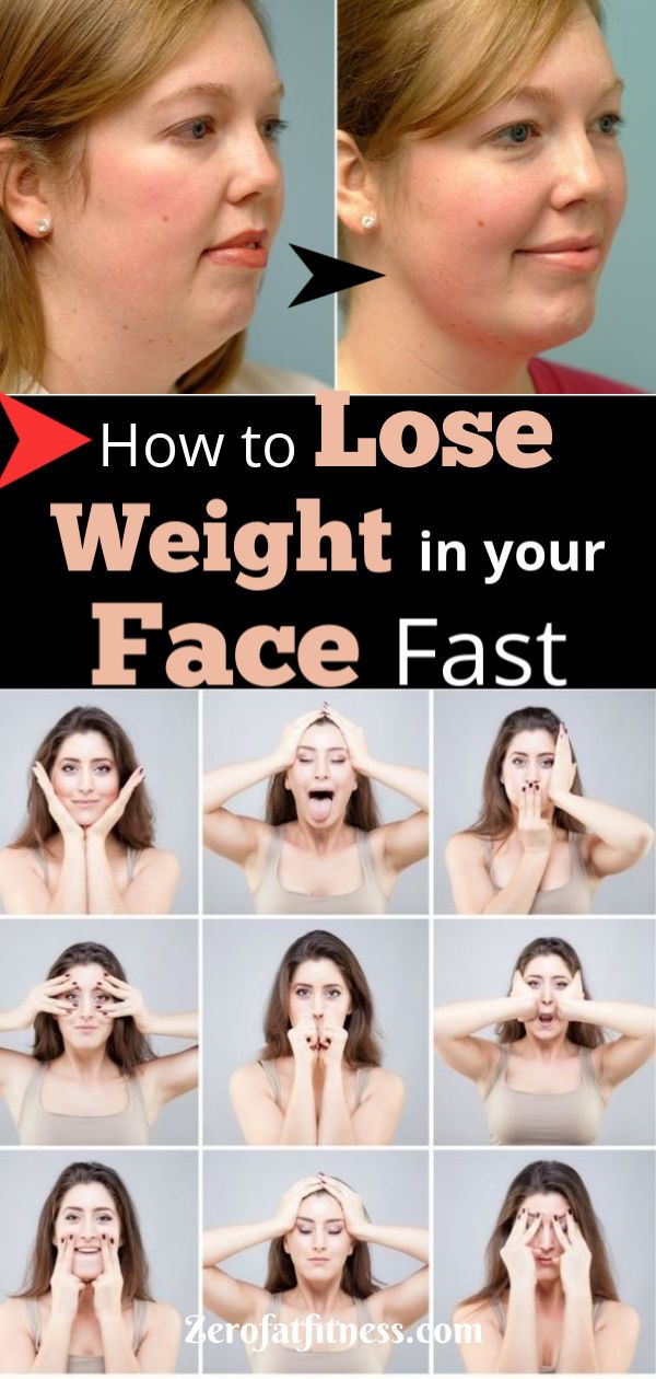 How to Lose Weight in Your Face Fast in 2 Weeks - Facial Exercises + Home Remedi...