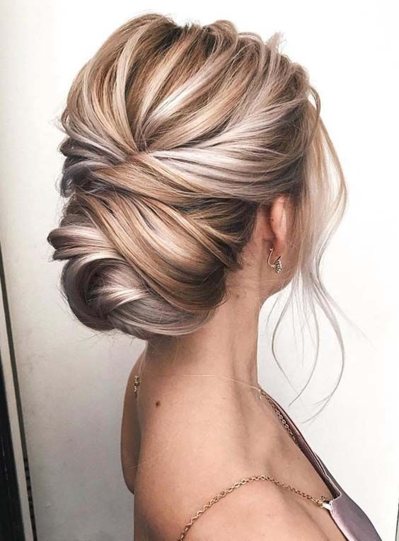 23 beautiful knotted blonde updos for women 2018. Look for ... #blonde ...