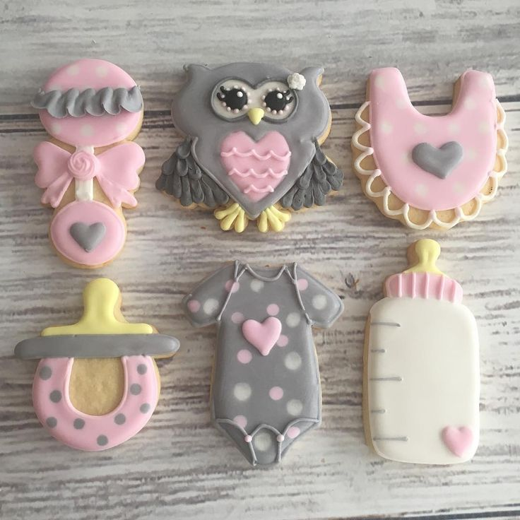 "Cookies By O on Instagram: ""Owl baby shower cookies 🦉💕 . . . #cookiesbyo..."