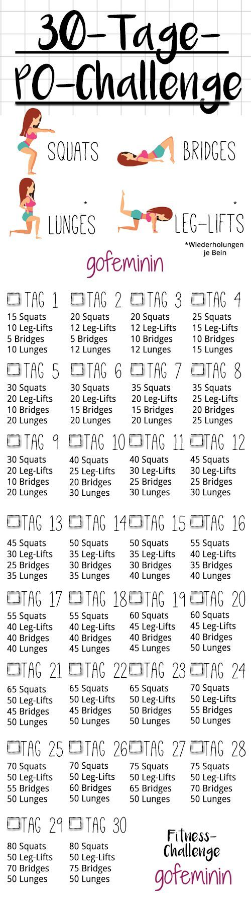 30-day Po Challenge: In a month to a crisp butt! -30-Days-Butt-Chal ...