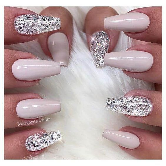 55 Acryl Coffin Nails Designs Ideen #wedding #nageldesign #trendfashion #nailpol...