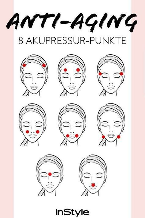 Acupressure against wrinkles: If you press these 8 points, your skin will be tighter and tighter ...