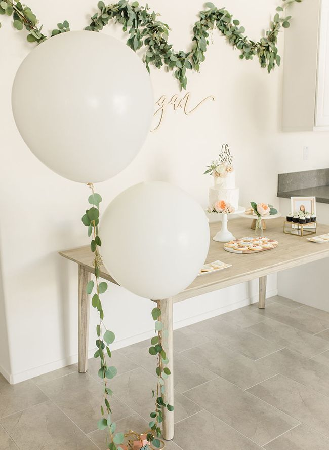 Gold & Greenery Woodland-Babyparty - #Gold #Greenery #WoodlandBabyparty