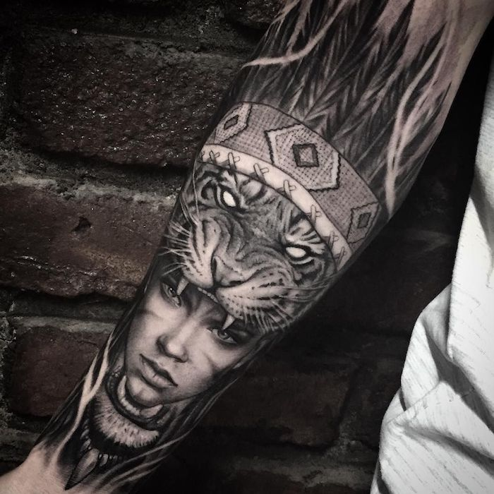 A forearm tattoo is an attractive body jewelry! Click here and see ...