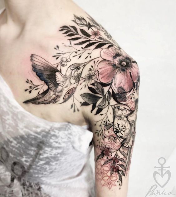 50 beautiful flowers tattoos designs and ideas for boys and girls