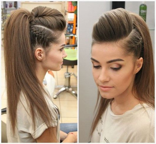 The best ideas of beautiful graduation hairstyles 2018-2019 - photo new item ...