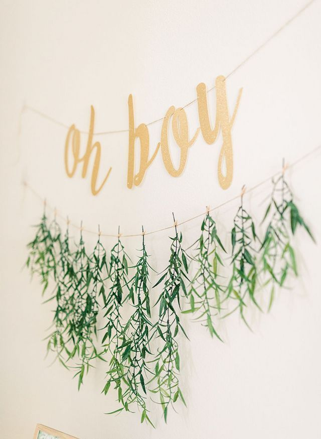Gold & Greenery Woodland Baby Shower | Inspired By This | Bloglovin'