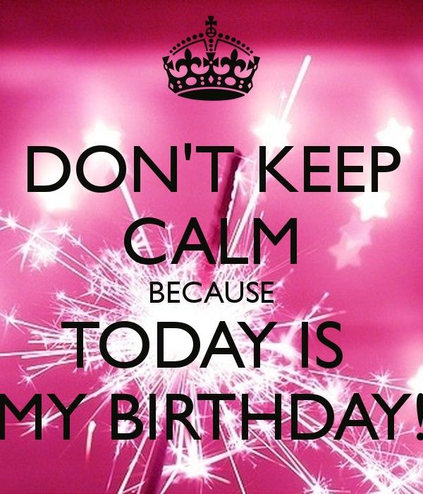 Today Is My Birthday Quote 3. My birthday quotes on PictureQuotes.com.