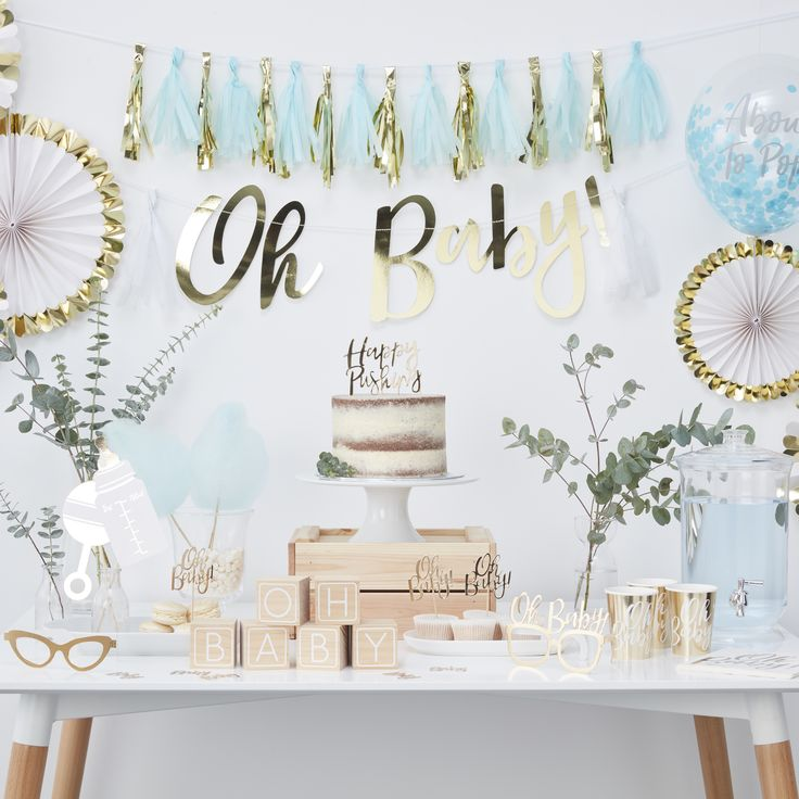 Deco Series - Oh Baby! - Frollein Idell - the perfect baby shower