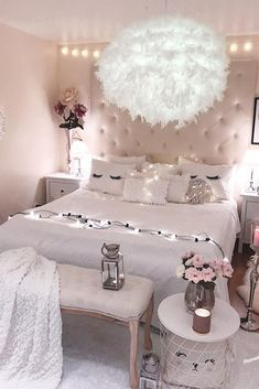 Dreamy Teen Bedroom Idea #roomforgirl #organization Need some teen bedroom ideas...