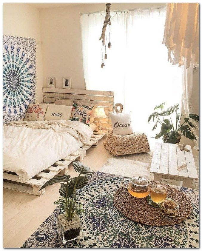 43 Rustic Bedroom Ideas That'll Ignite Your Creative Brain #rusticbedroomideas #...