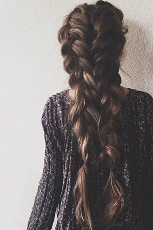 50 beautiful braids Hairstyles for long hair #frisuren #long #wonderscho ...