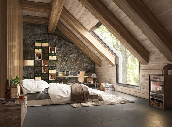 45 Brilliant Loft Bedroom Ideas and Designs #brilliant #designs # Ideas #sc ...