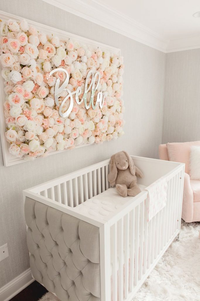 Guess which celebrity nursery inspired this beautiful room ...
