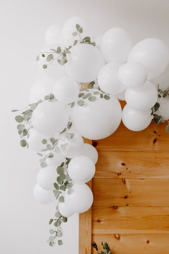 Sweet + simple baby shower