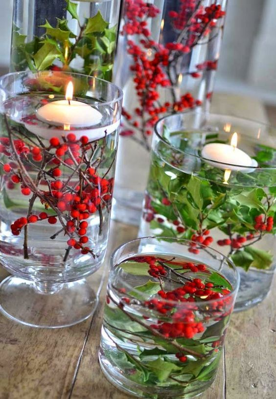 22 Simple Holly Berry Christmas Decoration Ideas | There is no Christmas without ...