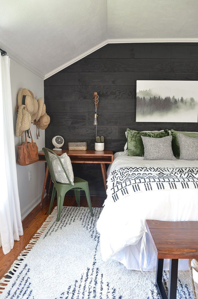 [Room Reveal]  Guest Bedroom Makeover on a Budget - #Bedroom #Budget #Gue ...