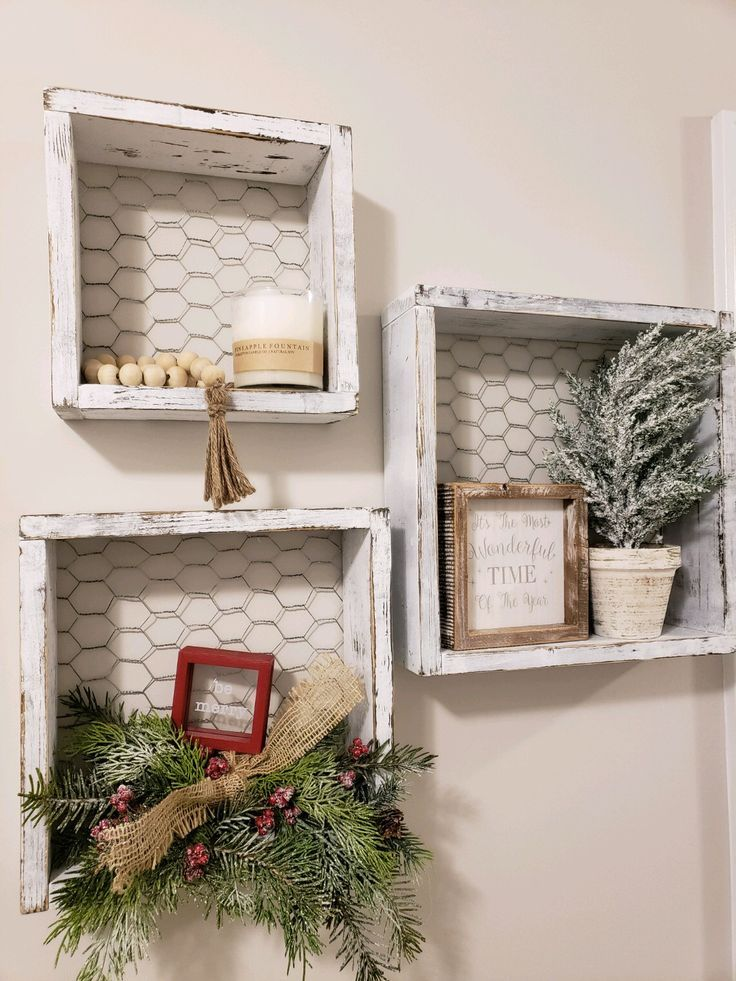 How cute are these shelves !?! - #Cute #shelves