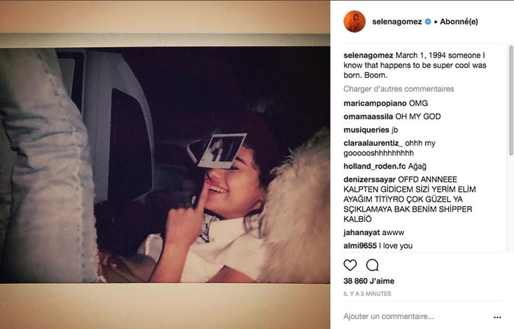 Selena Gomez Makes It Instagram Official With a Justin Bieber Birthday Post