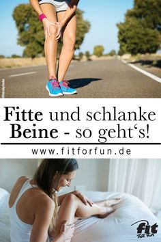 Who does not want them - slim and fit legs? With these exercises and ...