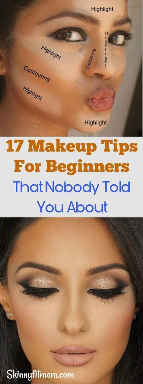 17 make-up tips for beginners that nobody has told you - #ANF ...